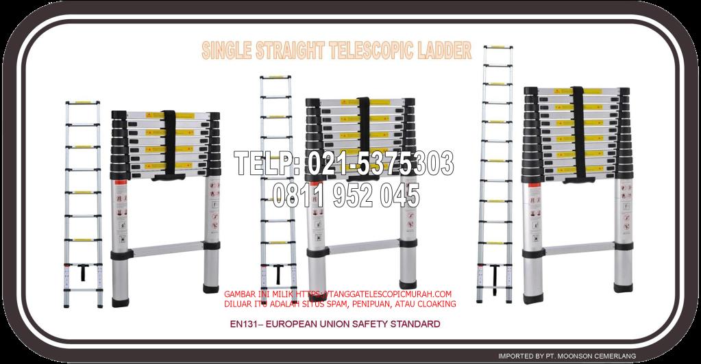 tangga lipat telescopic